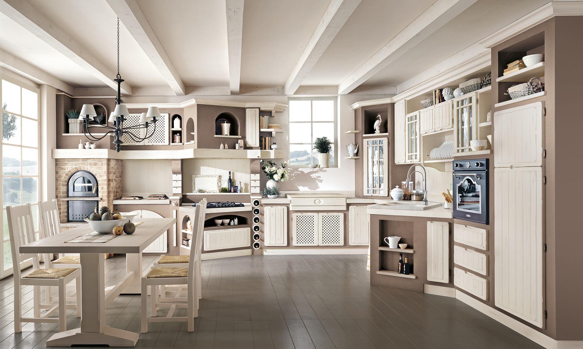 Cucina elena lube creo store corsico viale italia 22 - Cucine finta muratura lube ...