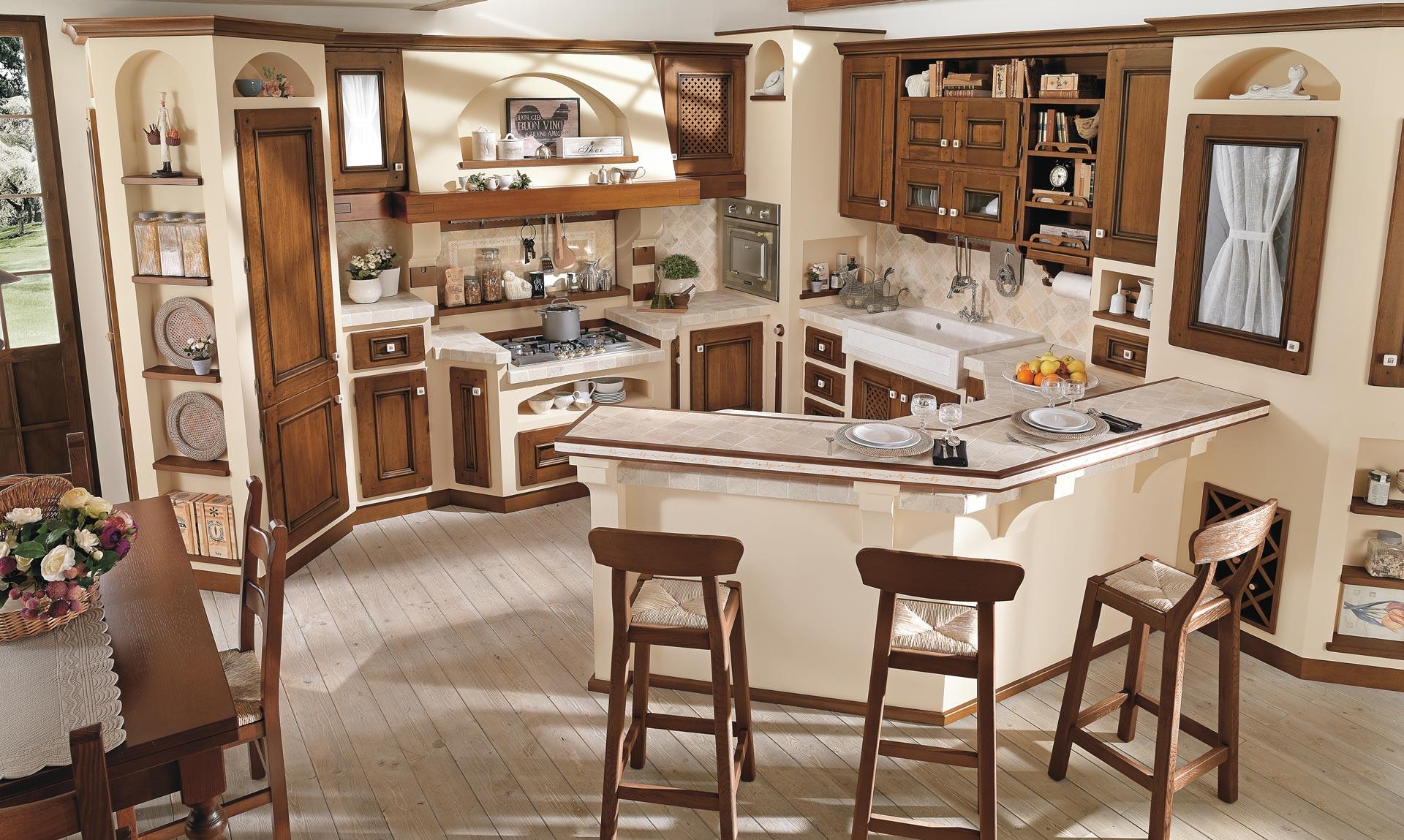 Stunning Cucine Antiche In Muratura Images - Home Design - joygree.info