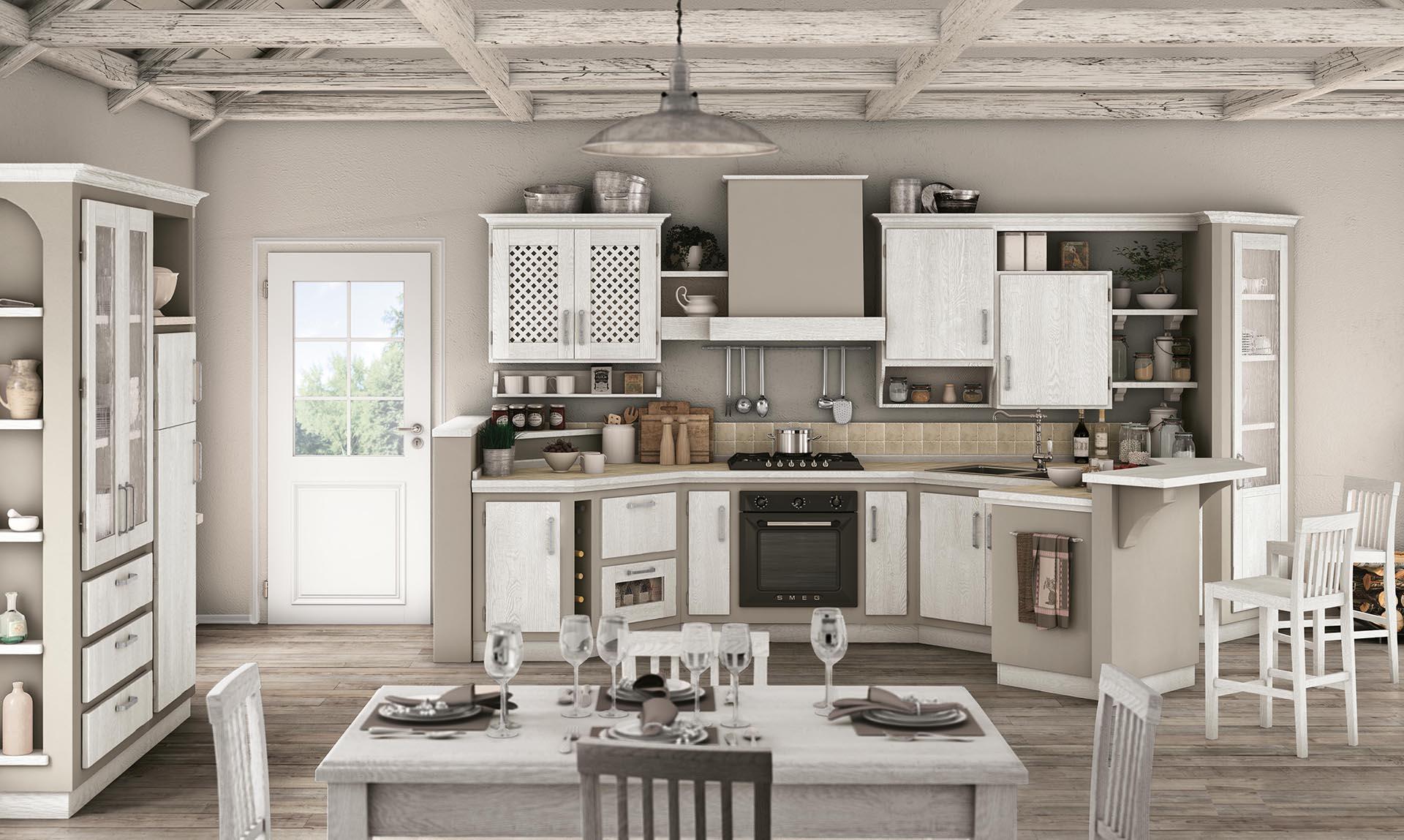Rovere Bianco Pietra - Lube e Creo Store Corsico - Vendita Cucine ...