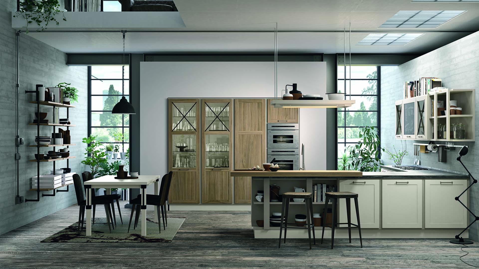 Arredare la cucina a vista, i consigli di Lube & Creo Store - Lube e ...