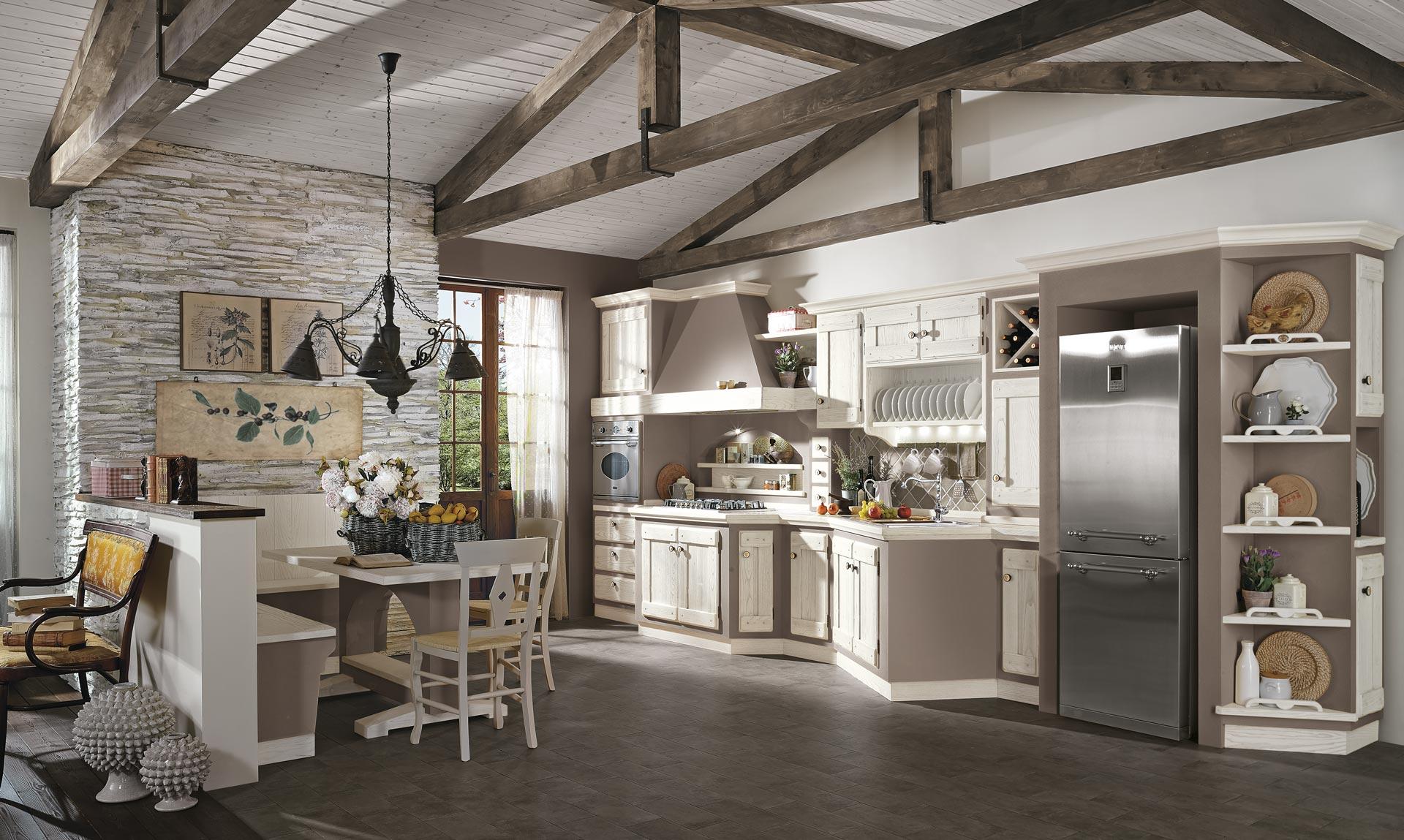 Bianco Anticato - Lube e Creo Store Corsico - Vendita Cucine Lube e Creo