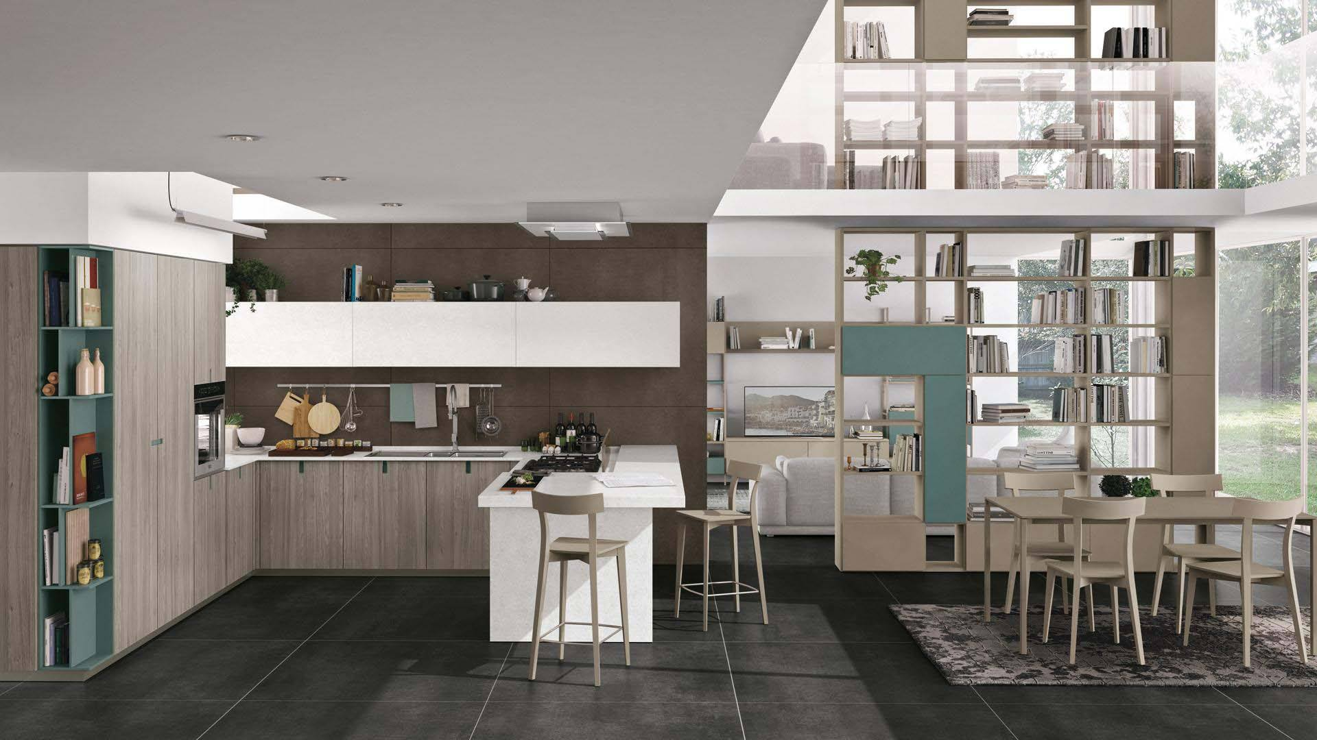 cucine moderne a milano - lube creo store corsico - Lube e Creo ...