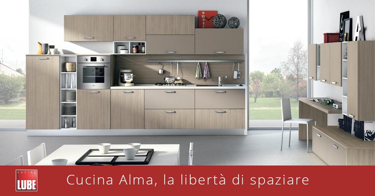 Cucina Alma, la libertà di spaziare - Lube & Creo Store Corsico