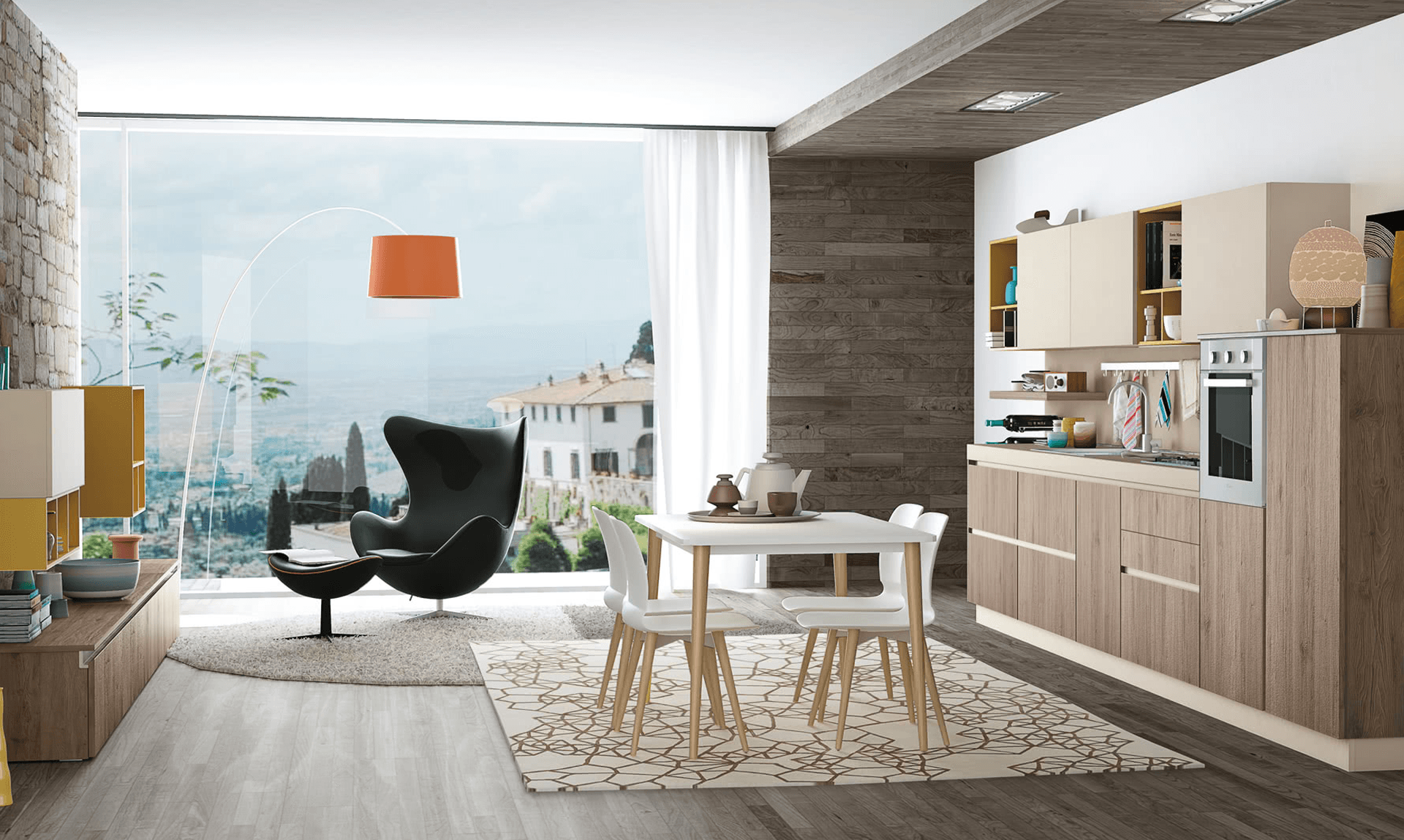 Arredare Le Cucine Open Space Vendita Cucine Lube E Creo